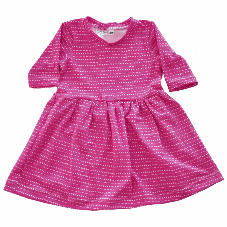 74728261057824 Play Dress Hot Pink Tic Tac 2T pink dress baby girl   Etsy