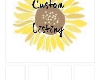 Custom Shirt Listing for jaclyn