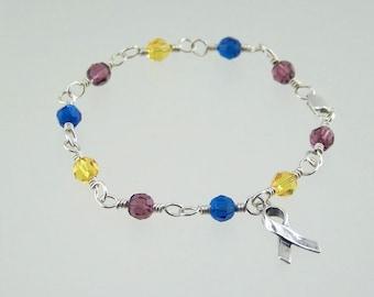Bladder Cancer Awareness Bracelet