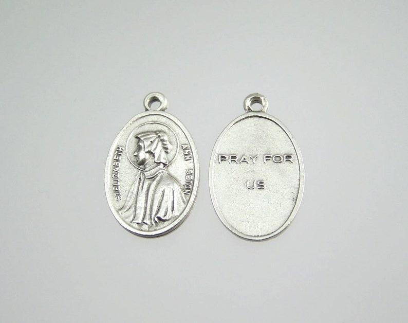 Saint Elizabeth Ann Seton Medal Necklace