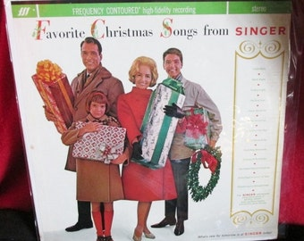 "Vintage Christmas ""Promo"" Album from ""Singer"""