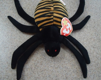 Vintage 1996 Ty Spinner the Spider Beanie Baby 1dea48ee64