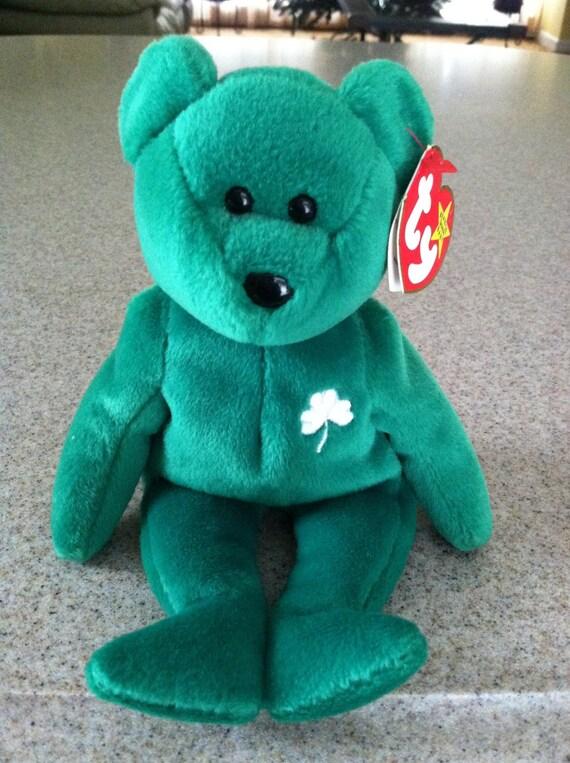 f940ed95b4d Vintage 1997 Ty Erin the Bear Beanie Baby