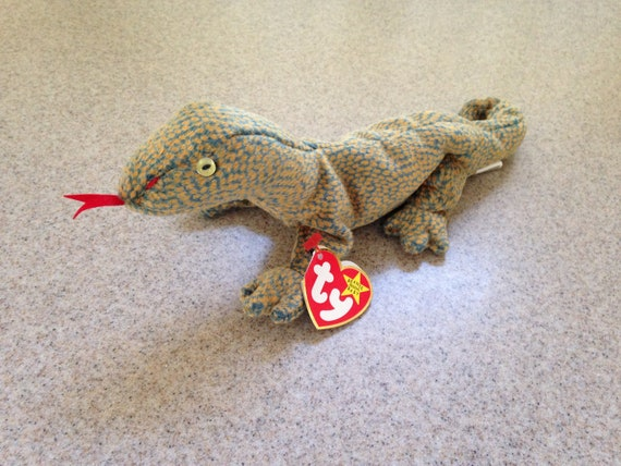 9eb31f7d836 Vintage 1999 ty Scaly the Lizard Beanie Baby