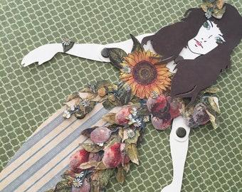 Mermaid Paper Doll 142 - Sirene de Provence