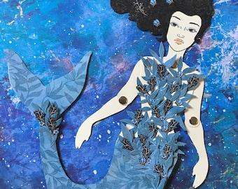 Mermaid Paper Doll 137 - Ode to Julie Mao