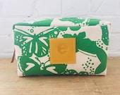 Kelly Green Butterfly Dopp Kit
