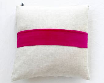 Velvet Band Pillow