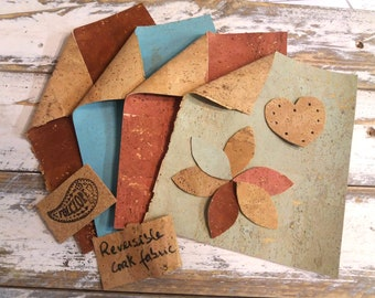 Cork Fabric Fat Quarters