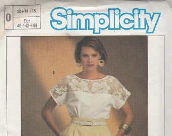 Simplicity 6806 Misses' Easy to Sew Top