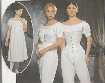 Simplicity 9769 Misses' Authentic Civil War Undergarments