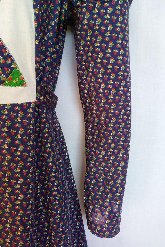 Vintage 1970s Maxi Dress, Mountain Artisans, Indi… - image 3