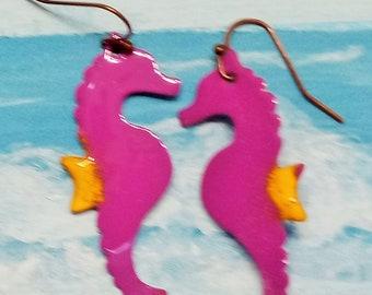 Sea Horse Earrrings