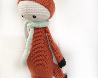 Crochet, Amigurumi - Felix/Fibi the Fox