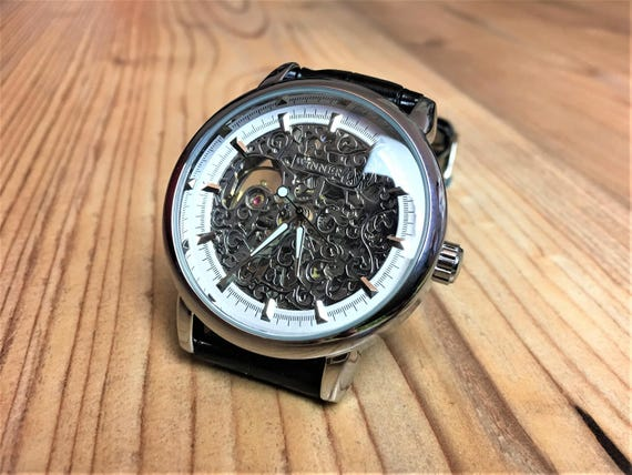 Engraved Watch - Engraved Mens Watch - Personalize