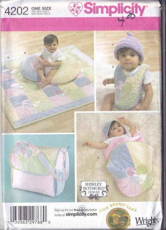 Baby Accessories Quilt Pillow Wrap Hat Bib Bag | Etsy