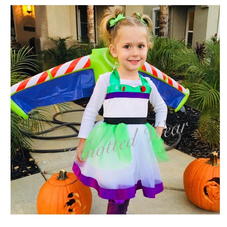 Buzz Party Dress: Buzz Lightyear Halloween Costume, Toy Story Birthday  Party, Comfortable Parks Meet U0026 Greet, Character Dinner, Woody Jessie