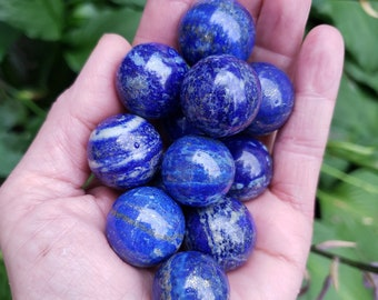 Lapis Lazuli Sphere from Pakistan