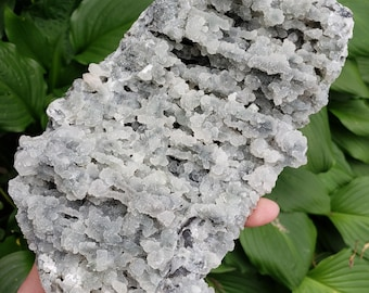2 pound 12 ounce Chalcedony and Apopyllite from India