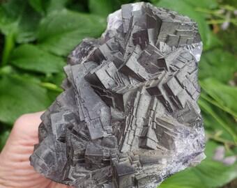 Fluorite and Calcite Specimen from Daman Ghar Pakistan