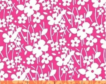 Martini Flowers in Pink by Anthology Fabrics - You choose the cut