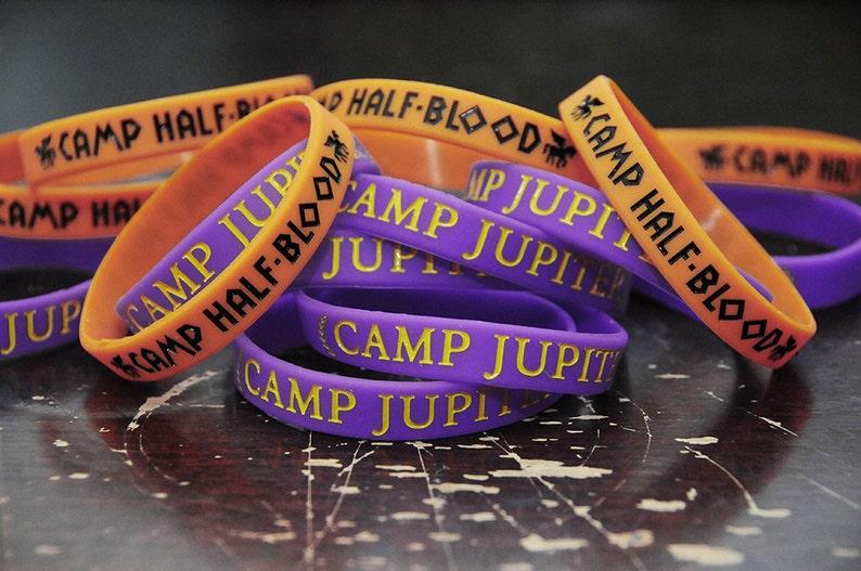 Greeky Geeky Silicone Bracelets.  Camp bracelets.  Whose camp image 0