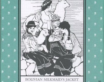 Bolivian Milkmaid's Jacket Pattern 124