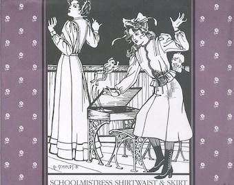School Mistress Shirtwaist & Skirt