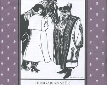 Hungarian Szür Pattern 150