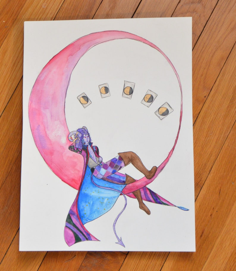 Mollymauk Tealeaf lost to the moon