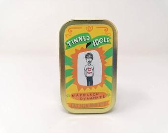 Napoleon Dynamite - Tinned Idol - mini collectable doll
