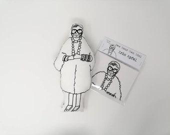 IRIS APFEL Sew Your Own Doll Kit