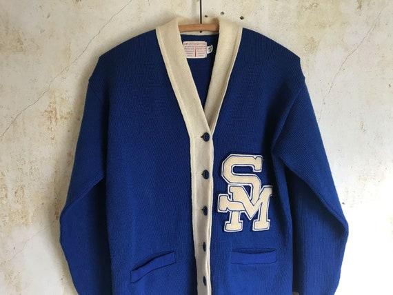 Vintage 60s Letter Sweater