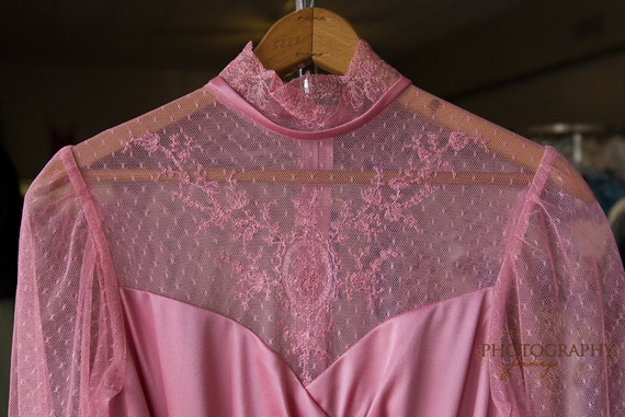 Vintage Dusty Rose Pink Dress from JC Penney Mint