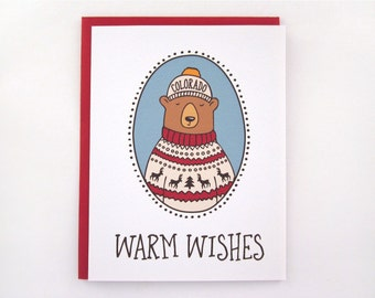 Colorado Bear - Warm Wishes - 6 Pack