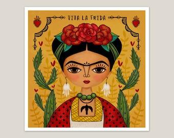 Mexican Artist - Art Print 8x8