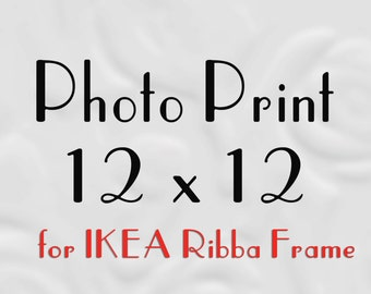 12x12 Prints for IKEA Ribba, 12x12 Prints, 12x12 Photos to fit Ribba Frame