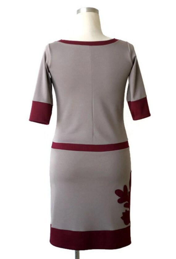 Applique dress dress Plus dress length Day clothing dress Boat Knee Plus size dress neckline womens size Summer size Dress Plus zzwfqr