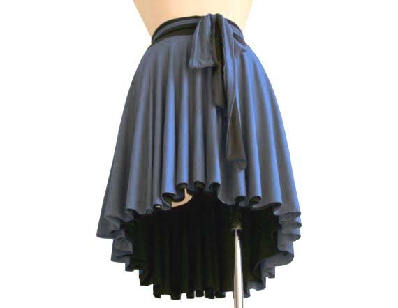 clothing skirts Black knee Aline Custom Asymmetric skirt skirt skirt Full skirt skirt length Womens skirt Grey Womens qwftxg6a