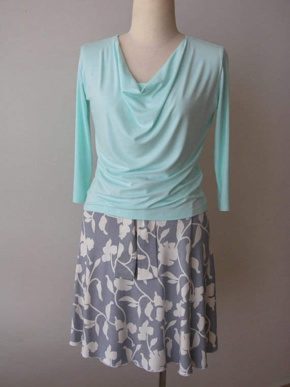 Summer A Knee skirt Wrap skirt skirt Plus skirt summer Summer size size skirt size plus skirt Plus Plus size line clothing length BYrw8Z6Yqx