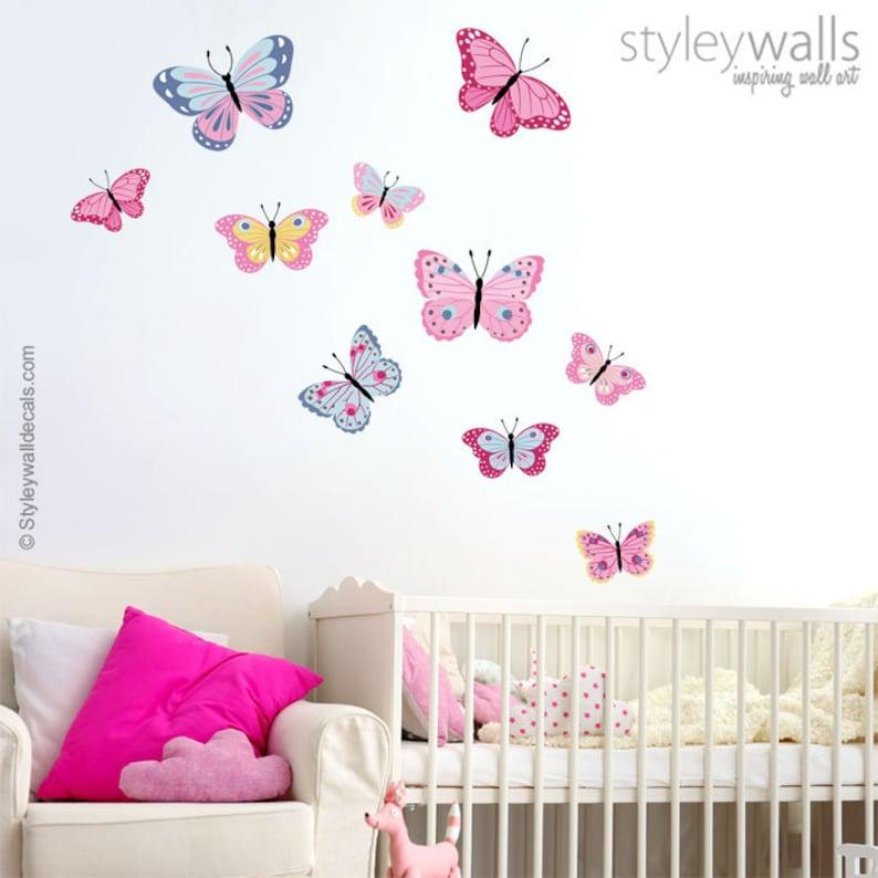 Schmetterlinge Wandtattoo Wandtattoo Schmetterling | Etsy