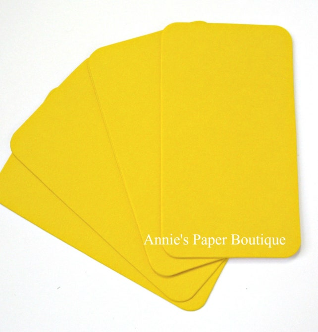 12 Mini Lemon Yellow Seed Packet Envelopes 2 316 X 3 1116