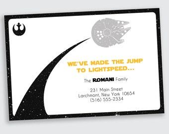 Star Wars Moving / New Address Announcement - DEPOSIT