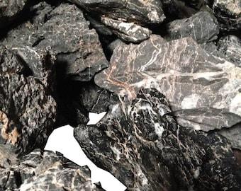 15 Pounds of Black Ying Stone (Seriyu Stone Alternative)