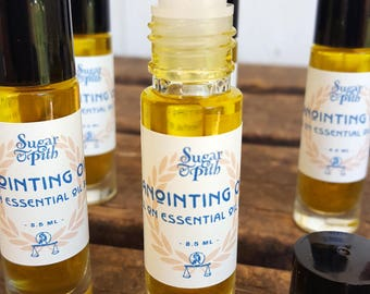 Anointing Oil Roll On, Essential Oil Scent Blend, 8.5 ml