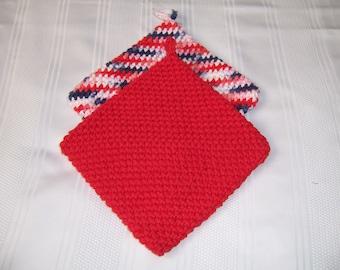 Crochet Hot Pads, Crochet  Potholders, Crochet Kitchen Hot Pads, Crochet Kitchen Potholders
