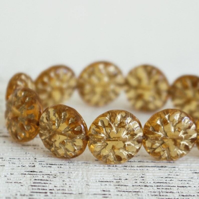 Czech Flower Beads   Czech Glass Flower Beads For Jewelry image 0