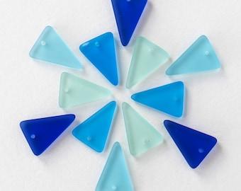 13x18mm Arrow Head Pendants - 4 Color Mix - 20 or 60 of 4 Colors