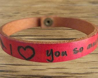 Personalized engraved name bracelet femme mens leather bracelet best friend bracelet leather cuff bracelet mens jewelry, Christmas gift