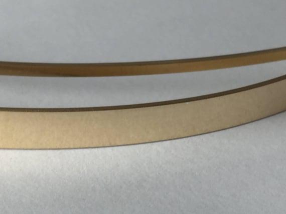 14 k Gold füllen flache Lager Flachdraht rose | Etsy